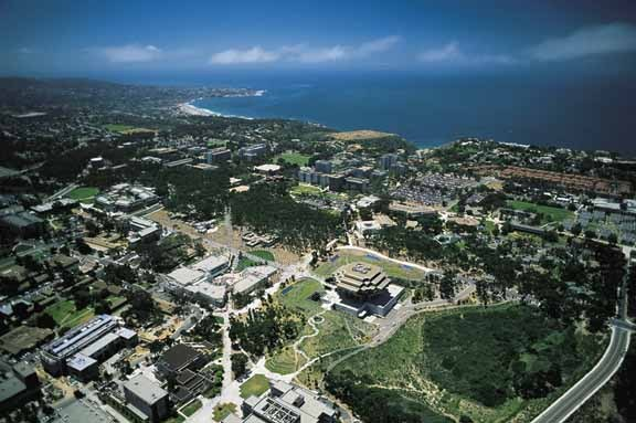 UCSD Aerial View Campus